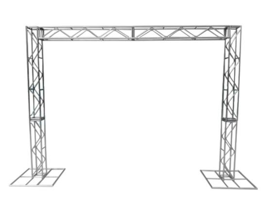 Treliças Kit Trave Box Truss Q20 Aço 2x2m - Lourenço