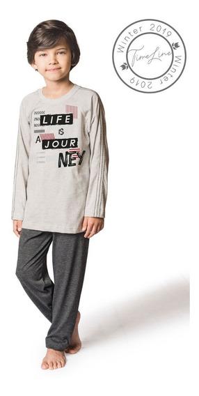 Pijama Infantil Menino Tamanhos 14 E 16