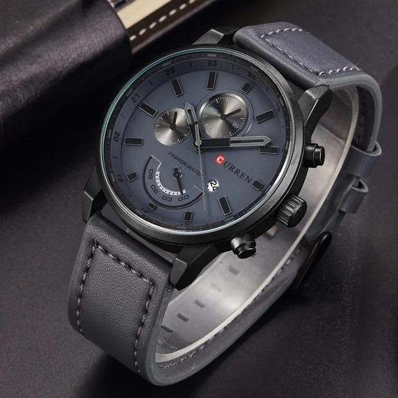 Relógio Curren Masculino 8217 - Frete Grátis