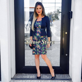Roupas Femininas Vestido Executivo Evangélico Social 2772