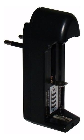 Carregador De Bateria 14500 18350 18650 1 Pilhas