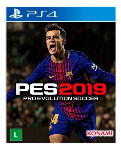 Imagen 1 de 4 de Pro Evolution Soccer 2019 Standard Edition Konami Digital Entertainment PS4 Digital