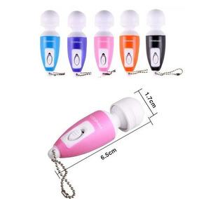 Mini Vibrador- Chaveiro- Relaxante Massageador Corporal