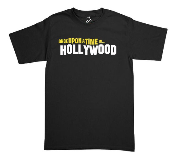 Playera Once Upon A Time In Hollywood - Quentin Tarantino