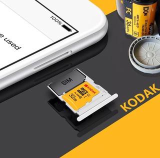 Kodak Micro Sd Card 32gb Tf Cartão De Class10 C10 U1