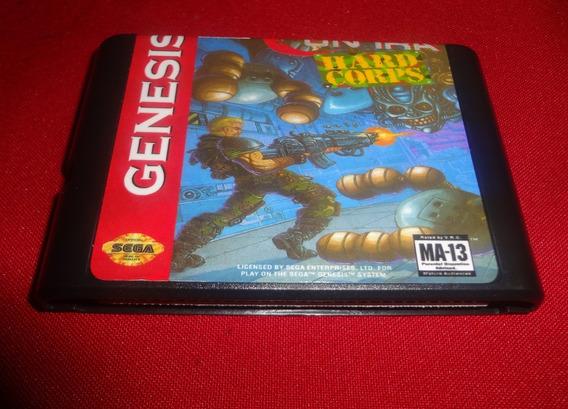 Contra Hard Corps Mega Drive (paralelo Novo)