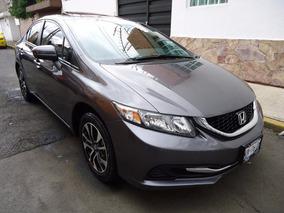 Honda Civic 1.8 Exl Navegador Automatico Piel Quemacocos