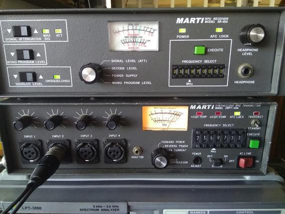 Transmisor Y Receptor Marti Transmisión Remota Fm