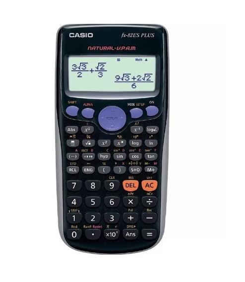 Calculadora Cientifica Casio Fx-82es Plus 252 Funções