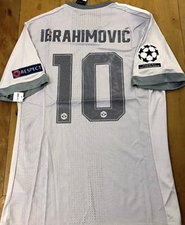 Camisa Manchester Utd. 2017/18 Champions League Jogador