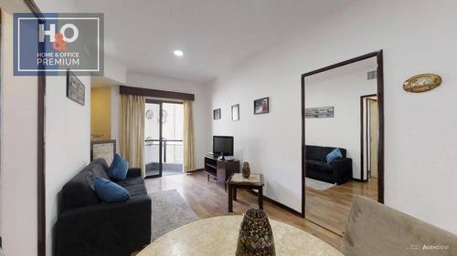 Flat Com 1 Dormitório À Venda, 40 M² - Consolação - São Paulo/sp - Fl0032