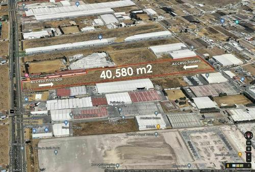 Imagen 1 de 6 de Terreno Industrial En Venta Lerma De 40,580 M2