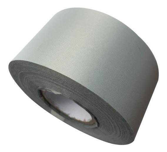 Cinta Textil Reflectiva Coser 25mm Rollo 50mt Reglamentaria