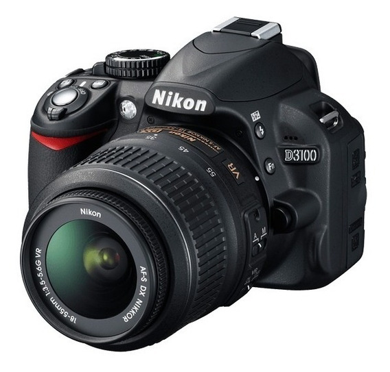 Camera Profissional Nikon D3100 + Lente 18-55 Semi-nova