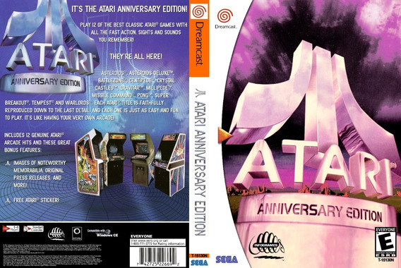 Atari Anniversary Edition - Dreamcast - Patch - Self Boot