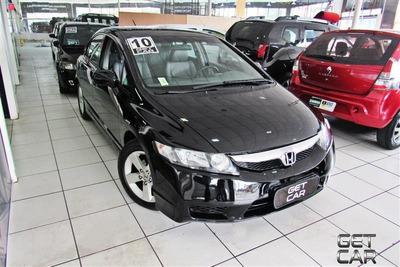 Honda Civic 1.8 Lxs 16v Flex 4p Automático 2009/2010