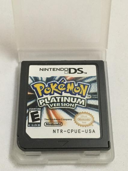 Pokemon Platinum Nintendo Ds 3 Ds Novo + Garantia
