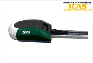 Kit Motor Seg Rc800 Con Riel 2.4 Mts Para Portón Eléctrico