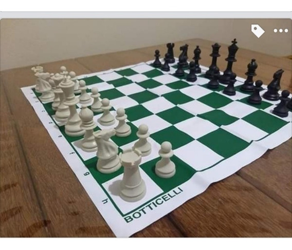 Kit 5 Jogos De Xadrez Botticelli