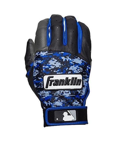 Franklin Sports Mlb Digitek Batting Gloves, Gris /negro /