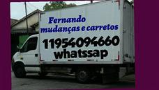 Mudanças Carretos E Montador De Moveis 11-954094660 Whats