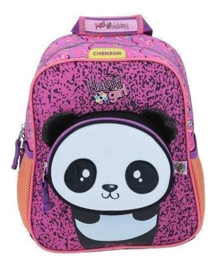 Mochila 3d Preescolar Chenson Happy Girl Kinder Niña Full