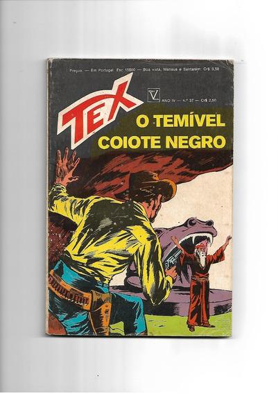 Tex N. 37 - 1a. Edição - Vecchi - Muito Bom Estado -
