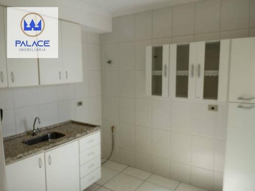 Apartamento, 70 M² - Venda Por R$ 250.000,00 Ou Aluguel Por R$ 700,00/mês - Paulista - Piracicaba/sp - Ap0747