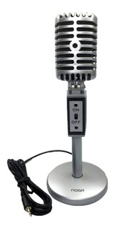 Microfono Para Pc Tipo Vintage Noga Mic-2030