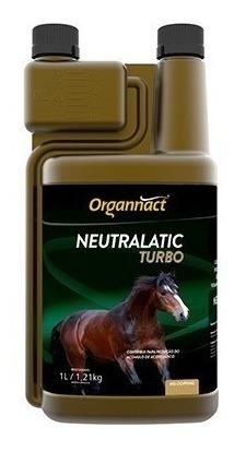 Neutralatic Turbo 1 Litro Cavalo 1l Organnact Pet Shop Store