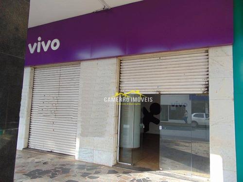 Salão Para Alugar, 200 M² Por R$ 3.000,00/mês - Centro - Americana/sp - Sl0342
