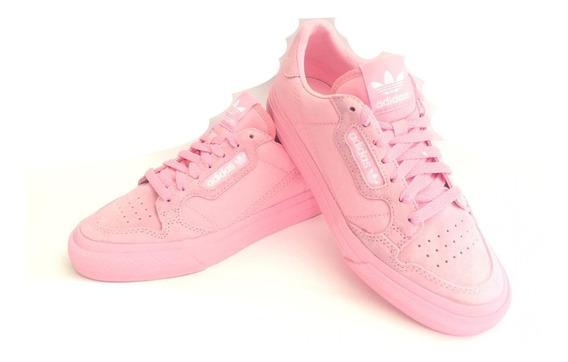 Tenis adidas Continental Color Rosa Nuevo Originales