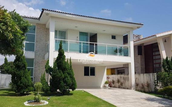 Casa Com 3 Dormitórios À Venda, 275 M² Por R$ 1.200.000,00 - Portal Do Sol - João Pessoa/pb - Ca0152