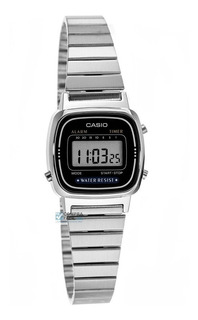 Reloj Mujer Casio La-670w Plateado Vintage / Lhua Store