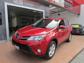 Toyota Rav4 5p Xle Aut 2013 Rojo