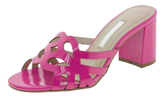 Tamanco Feminino Salto Médio Via Marte - 1812801 Pink