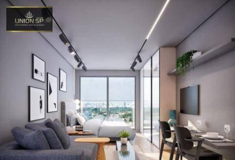 Imagem 1 de 9 de Studio Com 1 Dormitório À Venda, 21 M² Por R$ 490.000,00 - Cerqueira César - São Paulo/sp - St1545