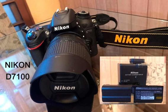 Nikon D7100 + Lente 18-105mm