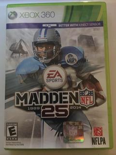 Madden 25 Xbox 360 Videojuego