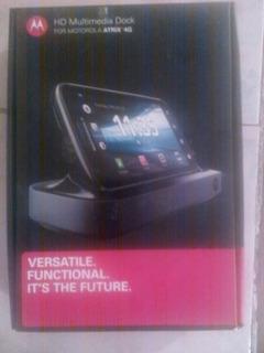 Base Multimedia Para Motorola Atrix 4g