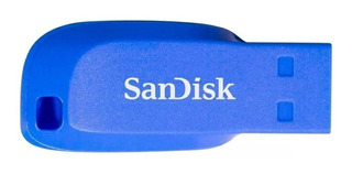 Pendrive 16gb Sandisk Cruzer Blade 16 Gb Usb Original