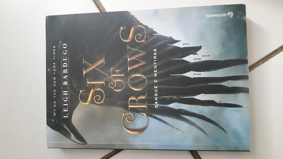 Livro Six Of Crows - Sangue E Mentiras
