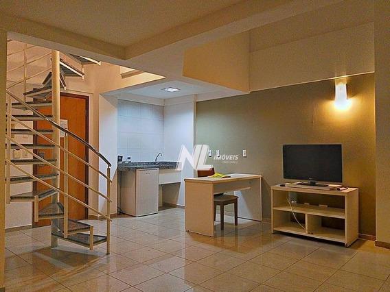Flat Duplex A Beira-mar Em Areia Preta Para Alugar - Fl0010