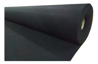 Alfombra Boucle Punzonada Acanalada X M2 Negro
