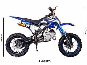 Mini Moto Cross Dsr 49cc - 50cc À Pronta Entrega