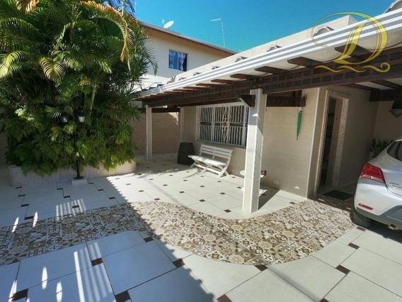 Casa Isolada De 03 Quartos À Venda Em Praia Grande Com 4 Vagas De Garagem!!! - Ca0157