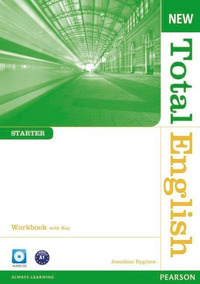 New Total English Starter Workbook - With Key - And Audio Cd