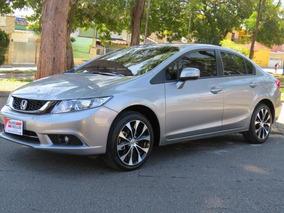 Honda Civic 2.0 Lxr Automático Flex 2016