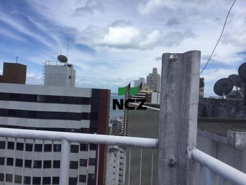 Imagem 1 de 15 de Cobertura Com 3 Dormitórios À Venda, 160 M² Por R$ 750.000,00 - Graça - Salvador/ba - Co0154
