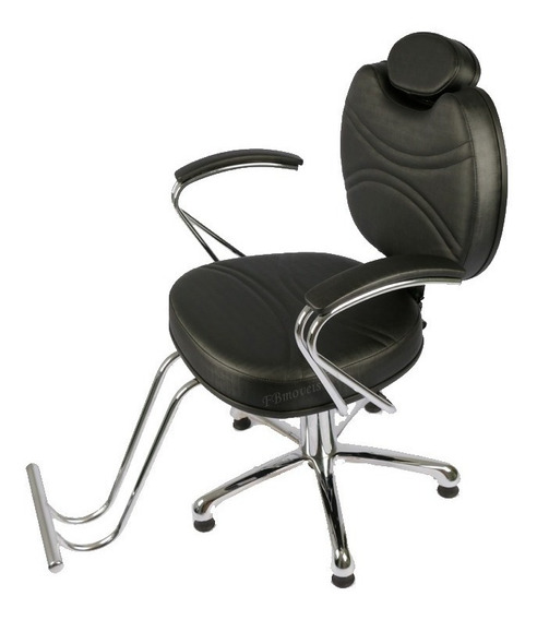 Cadeira Reclinável Topázio Barbeiro, Moveis Para Salão